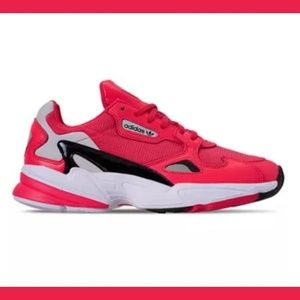 adidas Originals Falcon Casual Shoes Shock Red 9